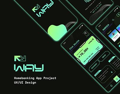 Way App - Online Homebanking App Project - UI/UX