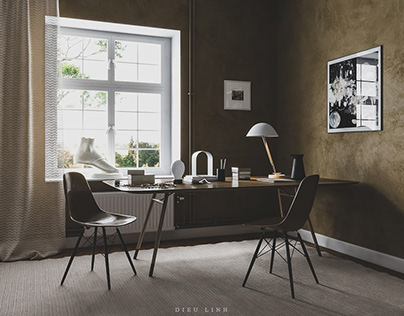 Free 3D Interior Scene Share 112 By DieuLinh