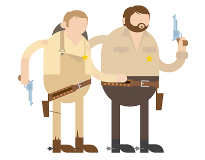 Bud Spencer & Terence Hill (in all their movies)