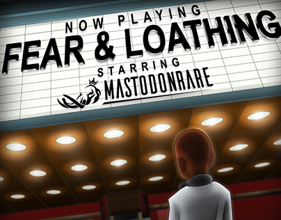 MastodonRare: Fear & Loathing | Album Cover