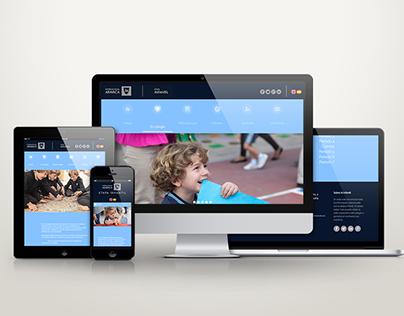 Responsive Web Design - Colegio Internacional Aravaca