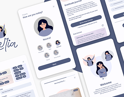 Cheeria - a Mental Health Based App