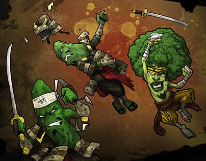 Videogames: Yasai Ninja (2014-2015)
