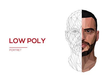 Low Poly Art Portret- Brilantin