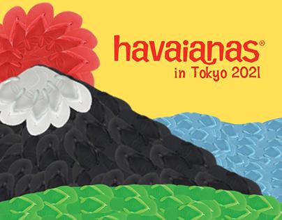 Havaianas   Olimpíadas Tóquio