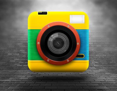 Lomo Camera iOS App Icon
