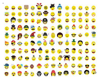 Creative emoji emoticons ,smiley
