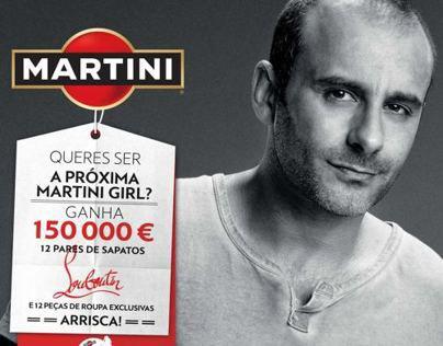 Campanha Martini Royal Casting