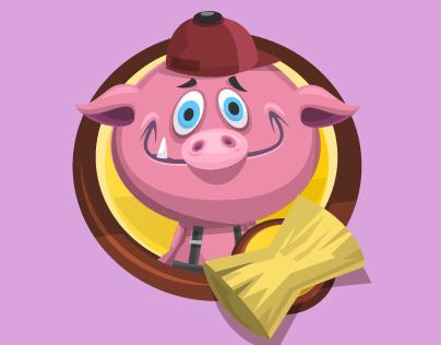 The Three Little Pigs - Fabu #4