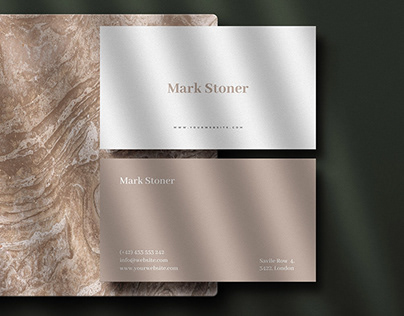8 Premium Business Card Mockups