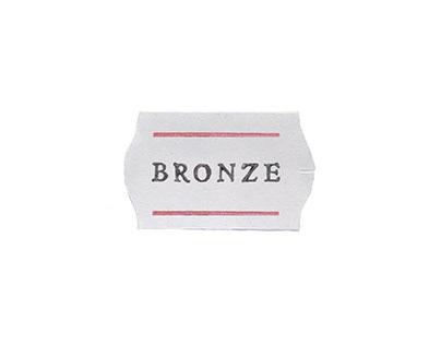 Bronze - identidade visual