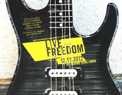 Convite Amnistia Guitarra