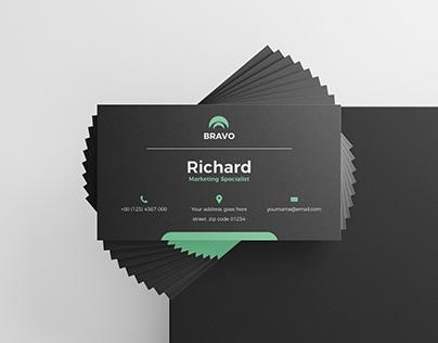 Modern business card design vol.6