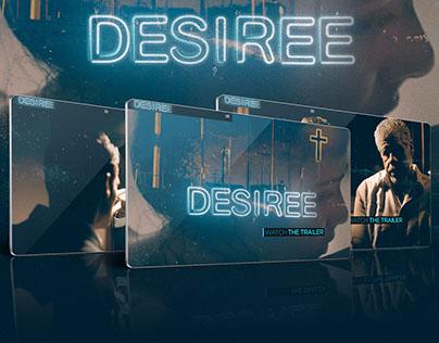 DESIREE - MOVIE WEBSITE