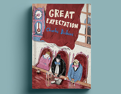 An Illustration for Great Expectation Indonesia Edition