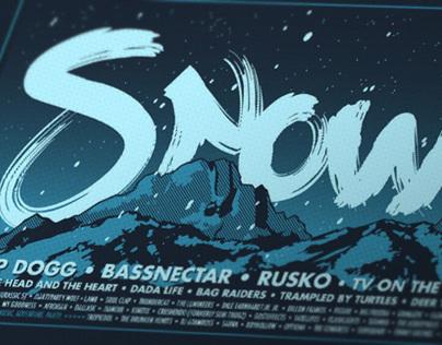 SnowBall 2012 Commemorative Poster