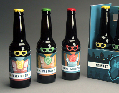 Magnifico Brewery Packaging