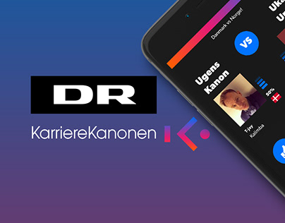 DR KarriereKanonen - website design