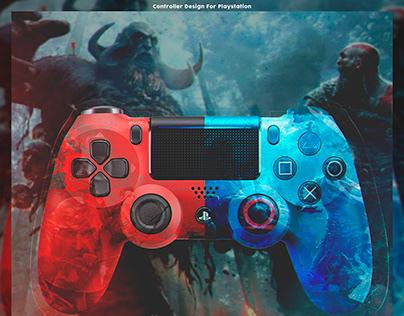 Controller Design For Playstation 4