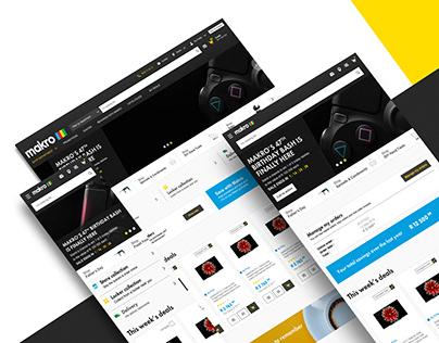 Makro UI Design