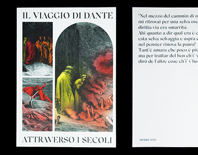 Il viaggio di Dante - Editorial Project