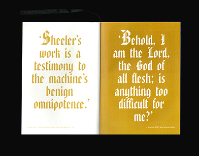God the Machine – Exhibition Catalogue