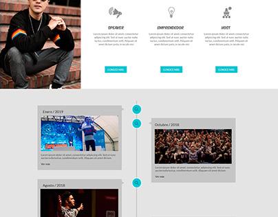 Diseño de sitio web para: Motta