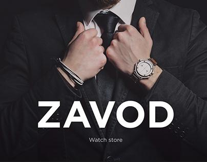 Online store Zavod   Watches