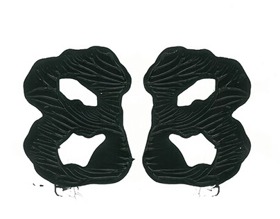 Experimental Typography Rorschach