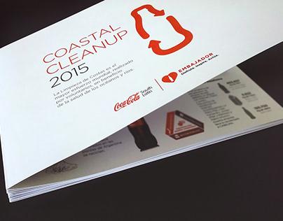 Brochure. Coastal Cleanup, 2015