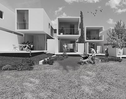 Social Housing Complex in Limassol