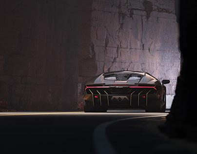 Lamborghini Centenario CGI