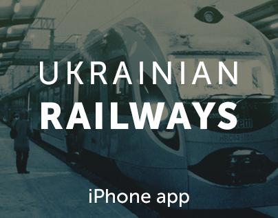 Ukrainian Railways - iOS app