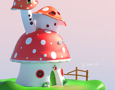 Cartoon Mushrooms