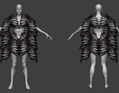 Ballerina_Textile design