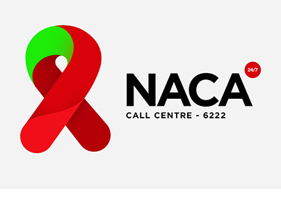 NACA Call Center Logo Design