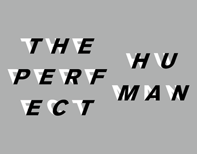The Perfect Human Poster