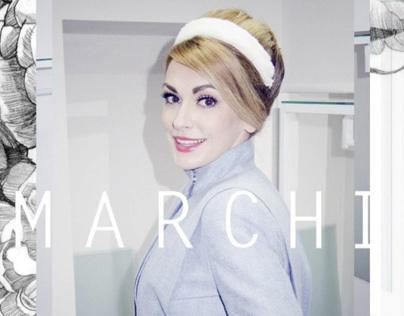 Olga Symskaya For Marchi brand