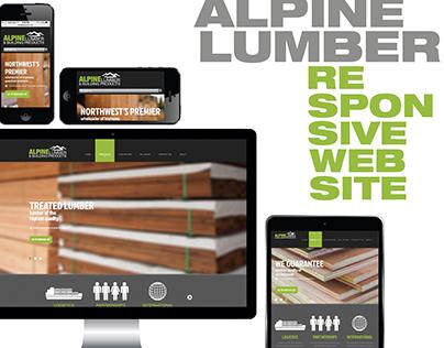 Alpine Lumber & Building Products | Responsive Website