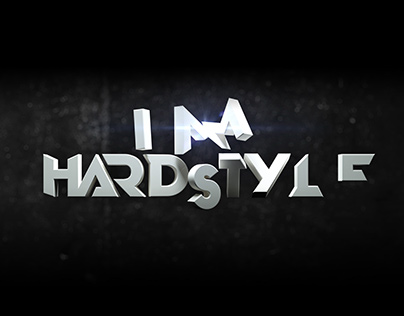 3D logo type for event trailer