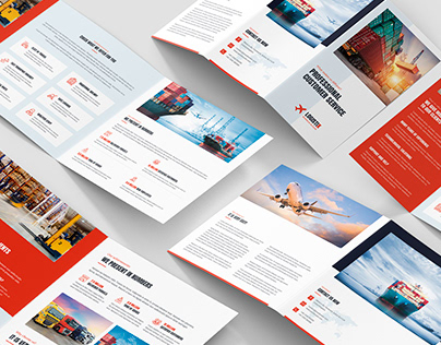 Transport Logistic – Brochures Bundle Print Templates