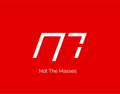 Not The Masses Concept Logo