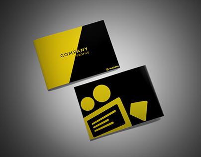 Company Profile Design for Media Sniffers