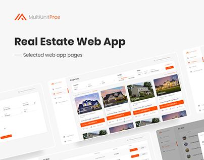 Multi Unit Pros - Web App Design