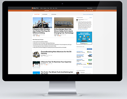 Oilpro Front End redesign