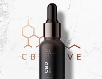 CBD Brand Logo and Package Design