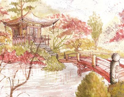 El Templo de Suzaku