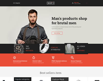 MAN'S eCommerce WordPress Theme