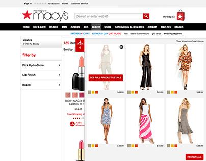 Macy's - Showroom