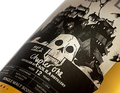 FABLE WHISKY BRANDING: The Ghost Piper of Clanyard Bay